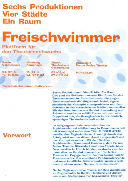 Freischwimmer 2004